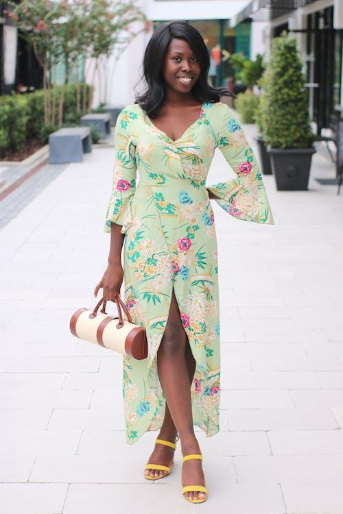 Imagine de stoc gratuită din adult, drăguț, drum, fată afro-americană