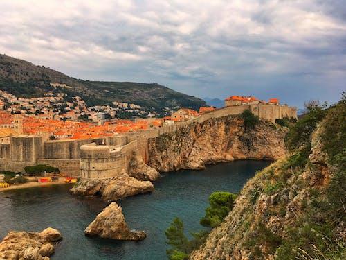 Free stock photo of adriatic sea, castle, croatia