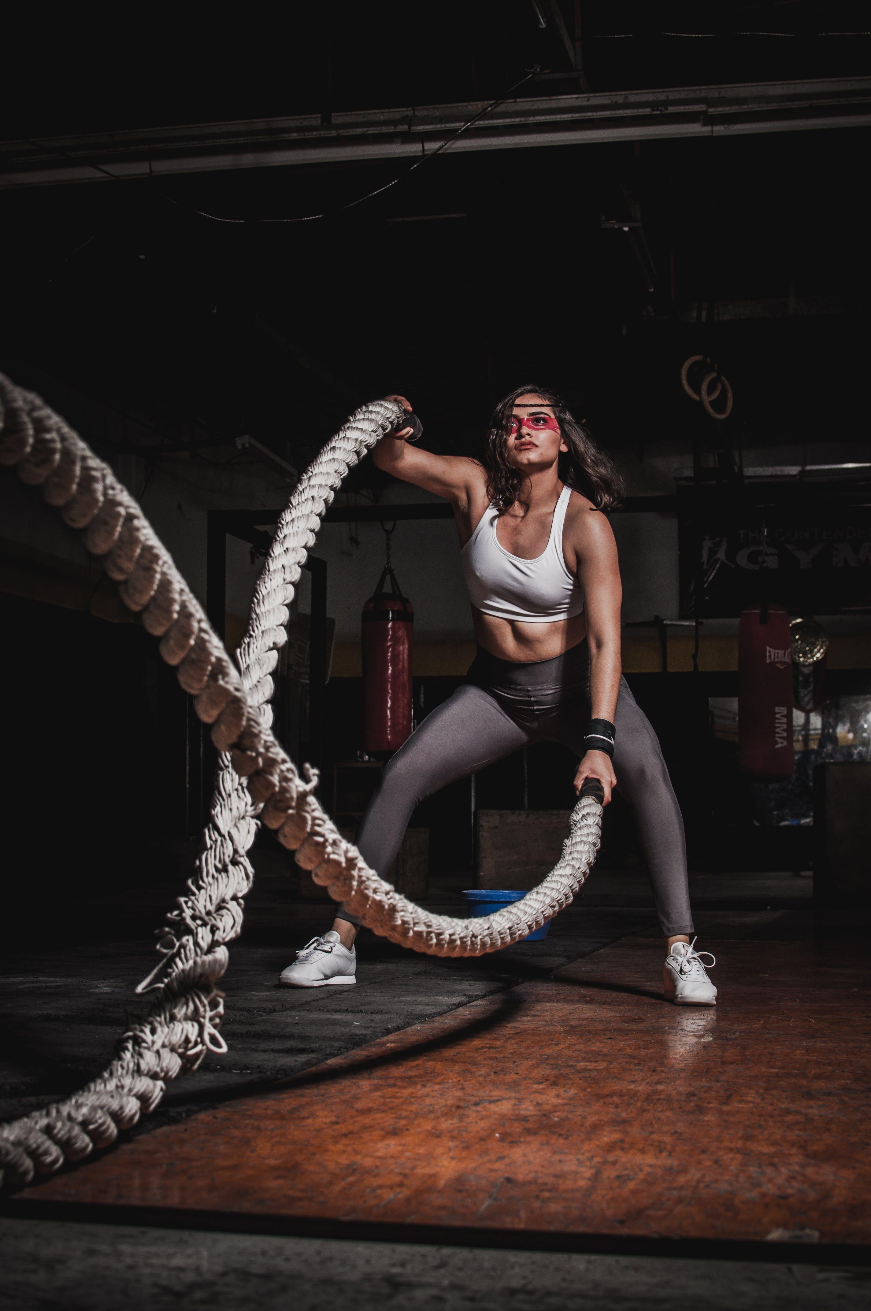Fotos de stock gratuitas de atuendo, cuerdas, desgaste, fuerza