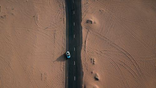 Gratis lagerfoto af bil, drone, dronefotografering, dronekamera