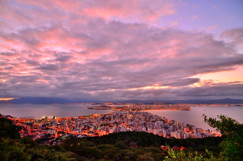 Foto stok gratis air, brasil, buildin, cityscape