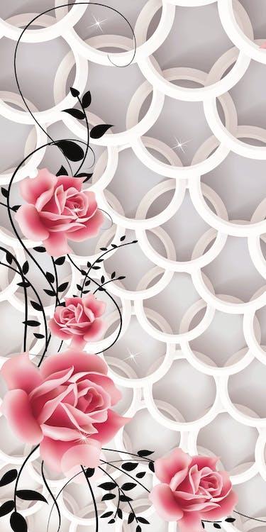 gyönyörű virágok, vektor