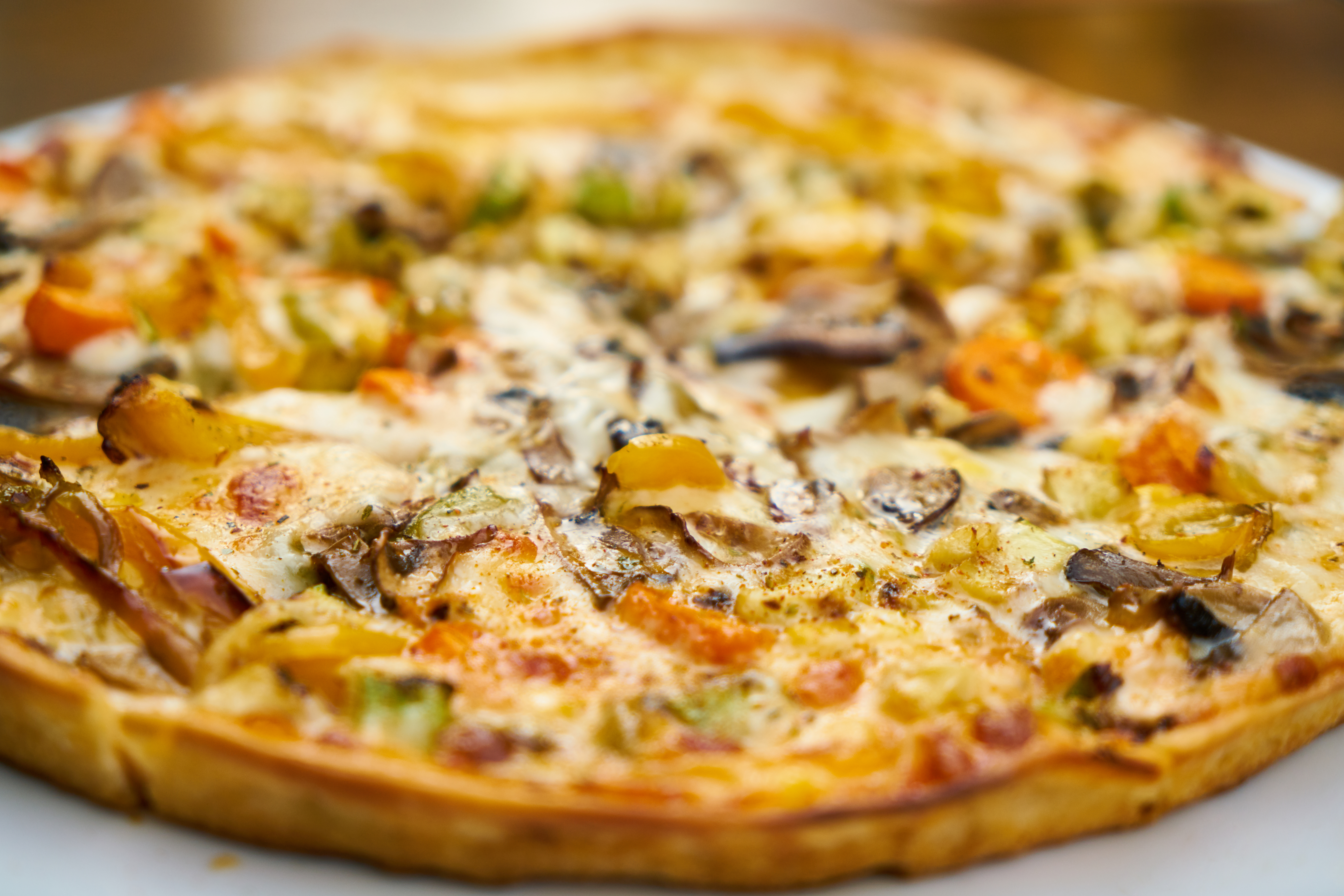 Food Photography of Pizza