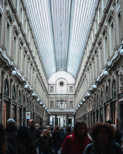 Fotos de stock gratuitas de adentro, arquitectura, caminando, comercio