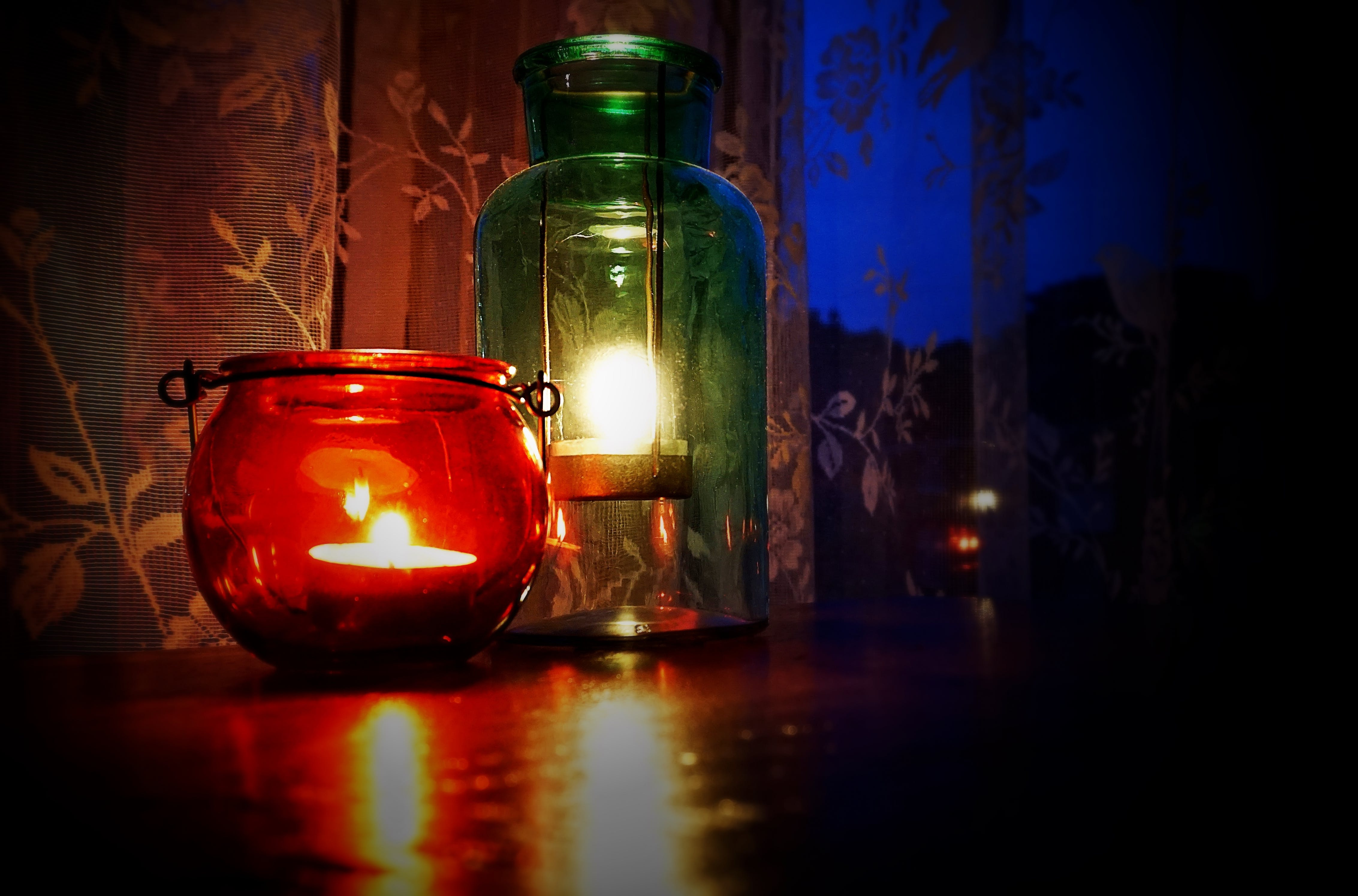 Free stock photo of light, lantern, candles, candle