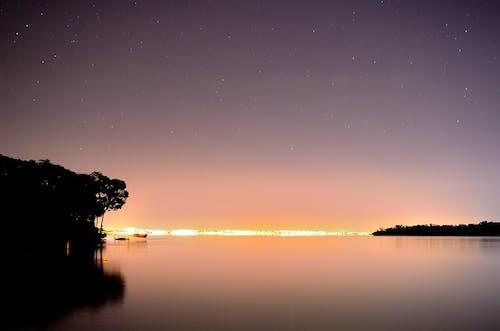 Gratis arkivbilde med daggry, hav, havkyst, lett