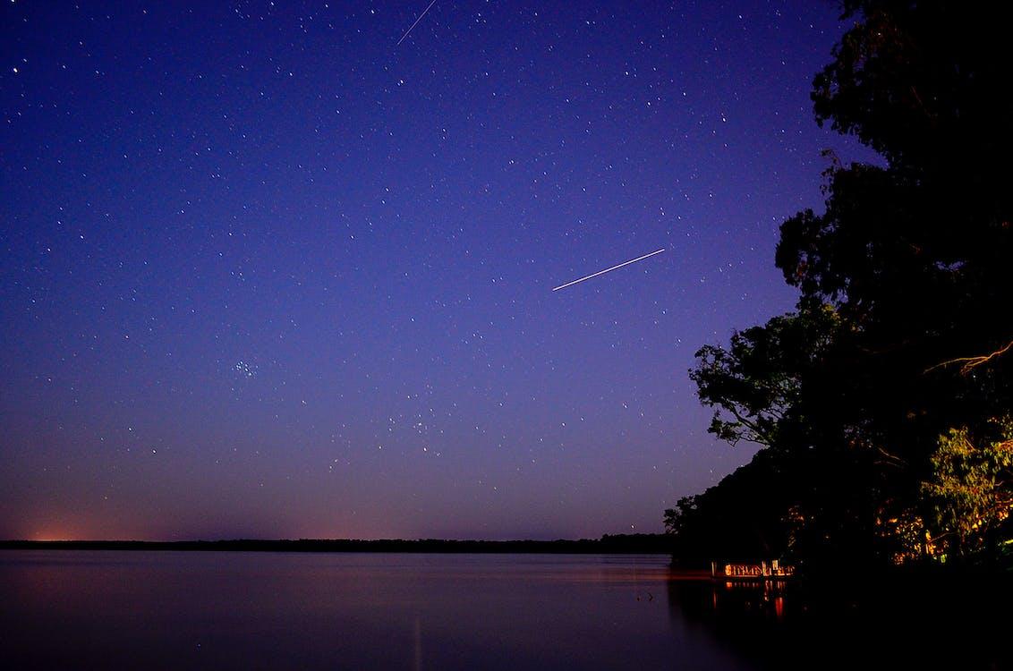 Falling Star Time Lapse during Night