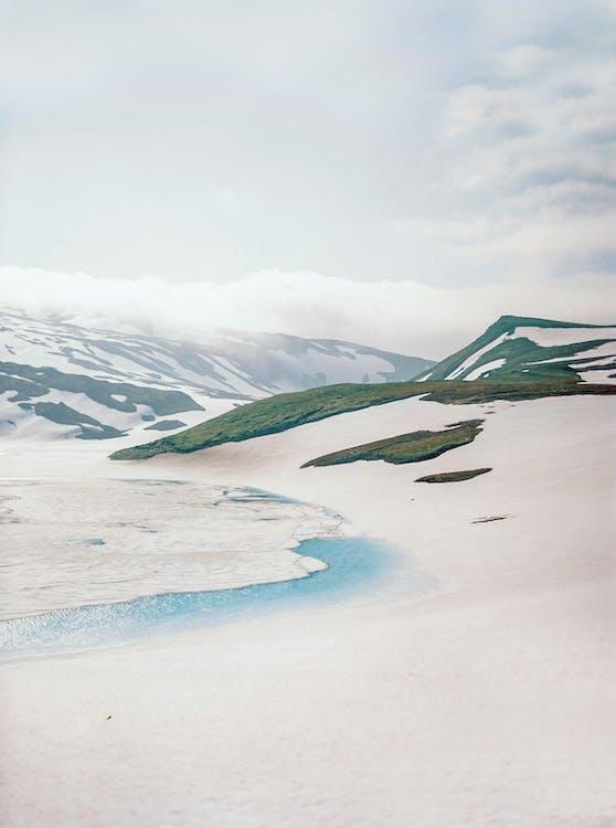 fotografie přírody, hora, krajina