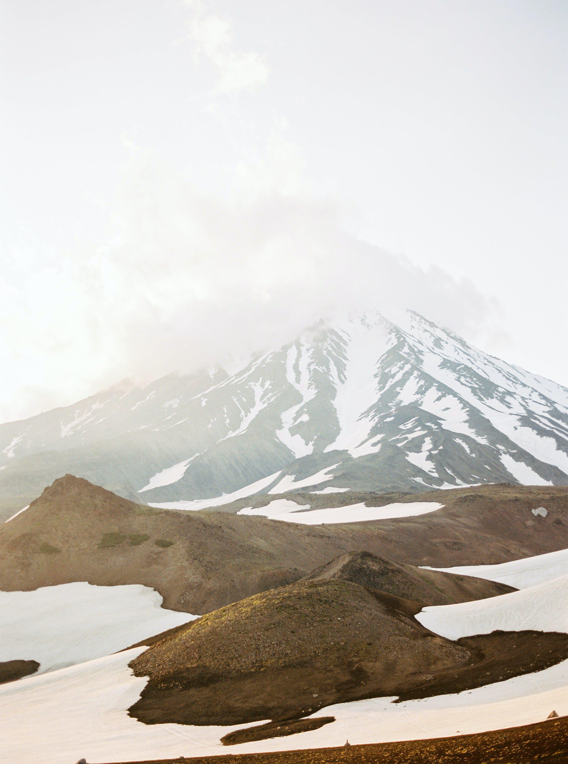 buz tutmuş, çevre, dağ, doğa içeren Ücretsiz stok fotoğraf
