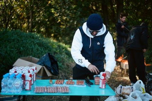 คลังภาพถ่ายฟรี ของ คน, ปิกนิก, ผู้ชาย, อาหาร
