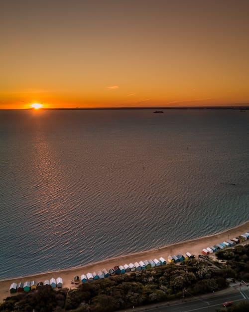 Ilmainen kuvapankkikuva tunnisteilla aamu, auringonlasku, auringonnousu, aurinko