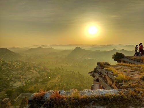 คลังภาพถ่ายฟรี ของ hampi, กรณาฏกะ, งานปั้น, ดวงอาทิตย์