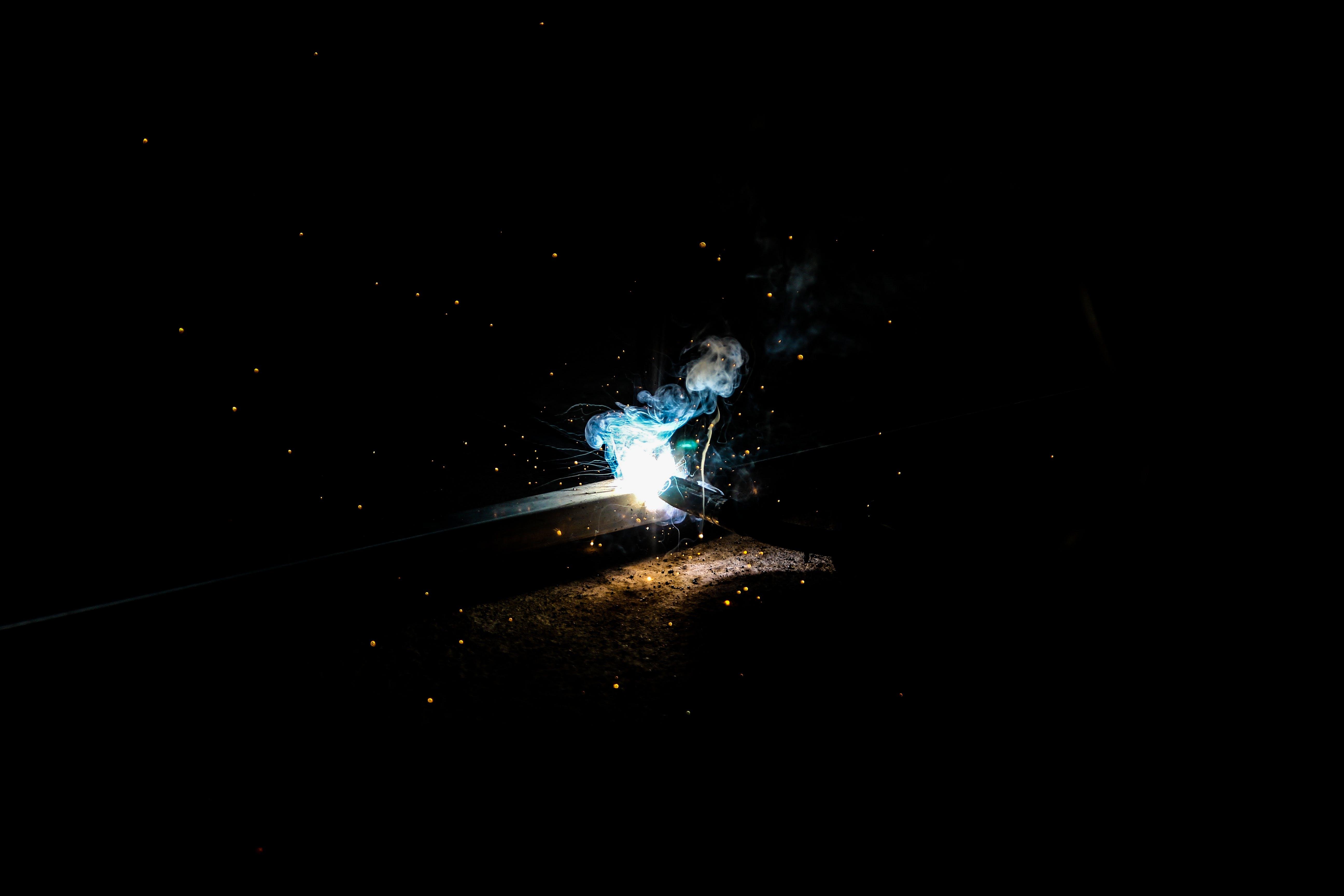 Blue Light Illustration