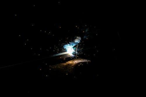 Foto d'estoc gratuïta de astronomia, espai, estrelles, flaix