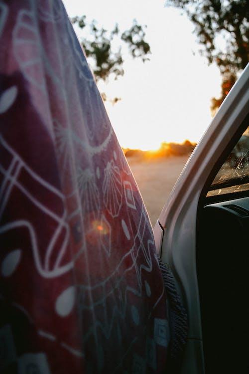 Immagine gratuita di asciugamano, camper, tramonto