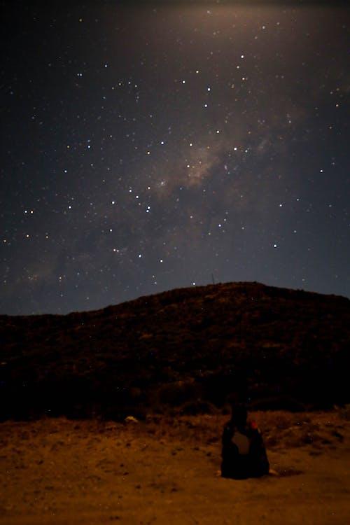 Immagine gratuita di guardando le stelle, star, via lattea
