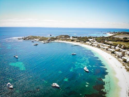 Immagine gratuita di baia, barca, oceano, spiaggia