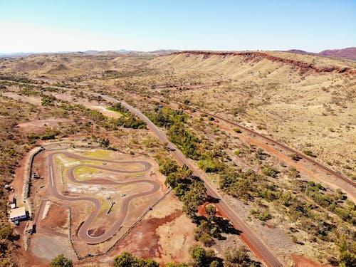 Aerial View Of Terrain