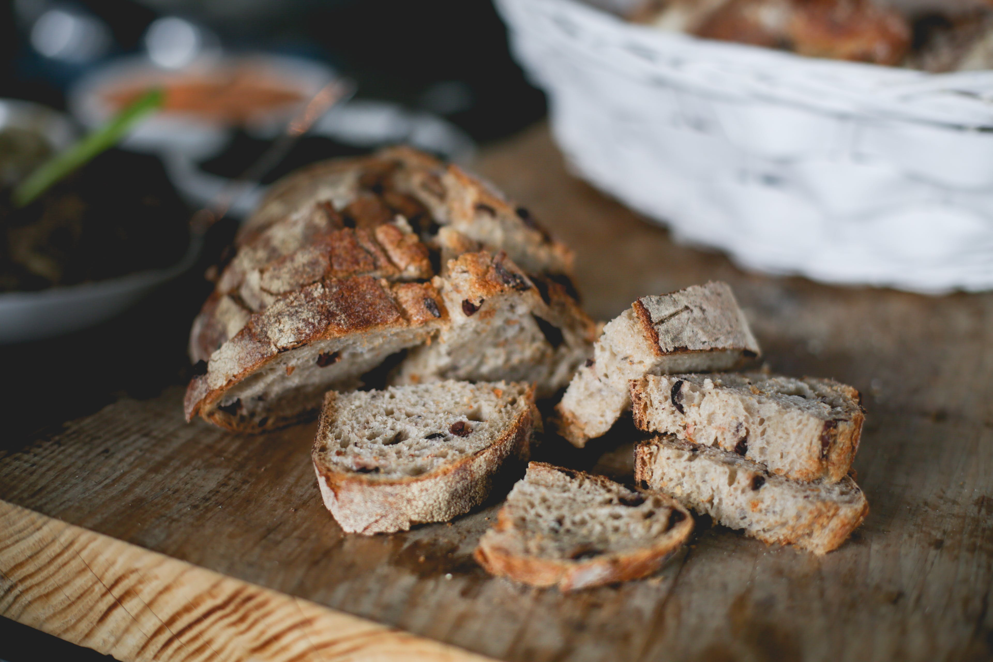 Selective Focus Photography of Slices of Breads