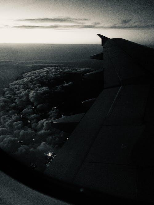 Photos gratuites de aile d'avion, avion, nuage