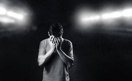Fotobanka sbezplatnými fotkami na tému chlap, čierny abiely, človek, depresia