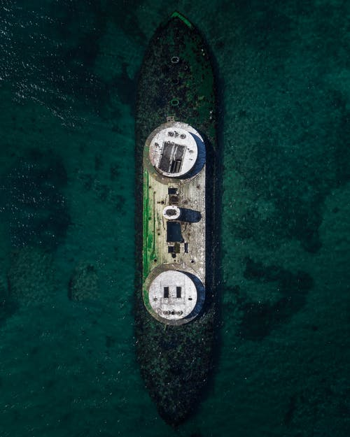 Aerial Photography of Boat in Water