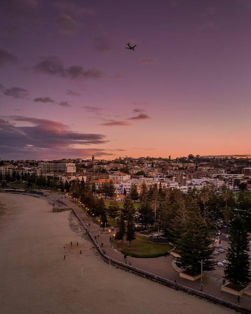 Photos gratuites de aube, coucher de soleil, d'en haut, lever de soleil