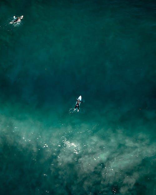 ウォータースポーツ, サーフィン, サーフボード, ドローンビューの無料の写真素材