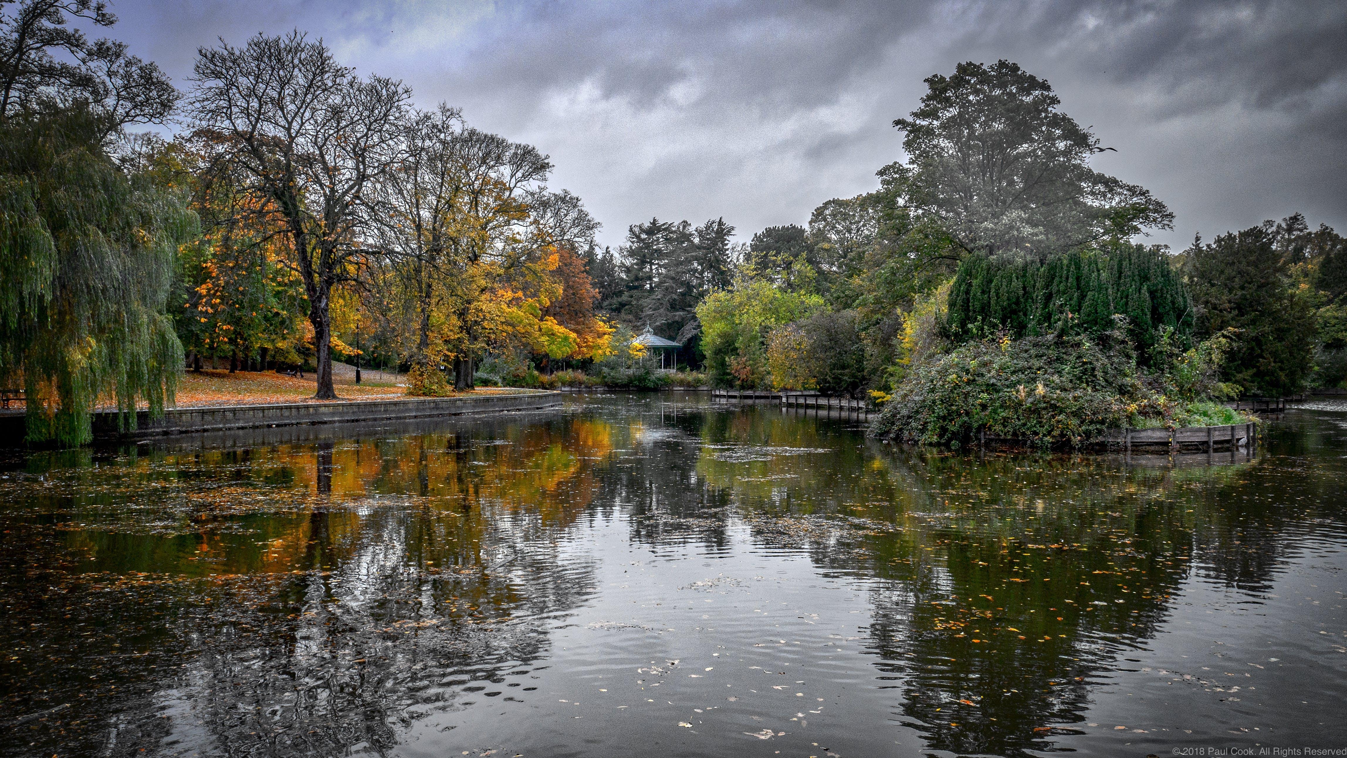 Free stock photo of Darlington, park, pond, reflections