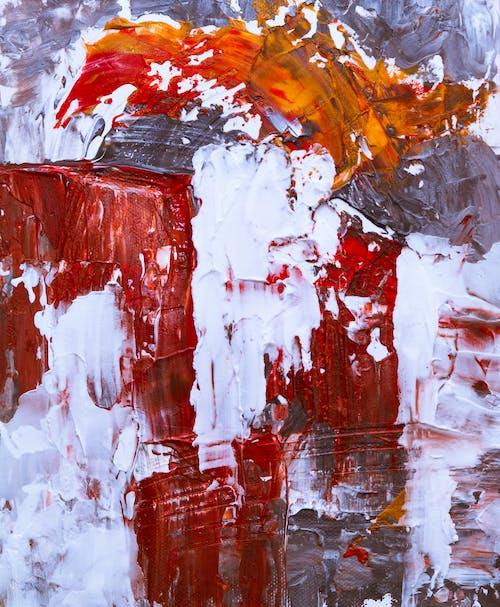 Kostnadsfri bild av abstrakt målning, akrylfärg, design, duk
