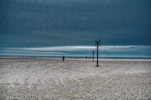 Gratis lagerfoto af kold strand