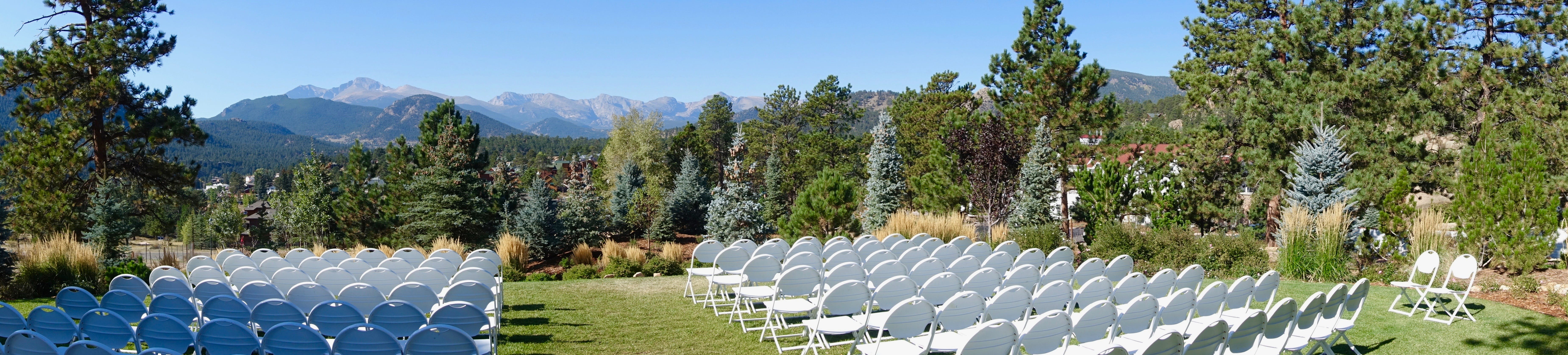 Free stock photo of chairs, gathering, modern outdoors, mountains