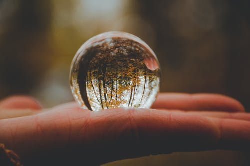 Close-up Photo of Crystal Ball