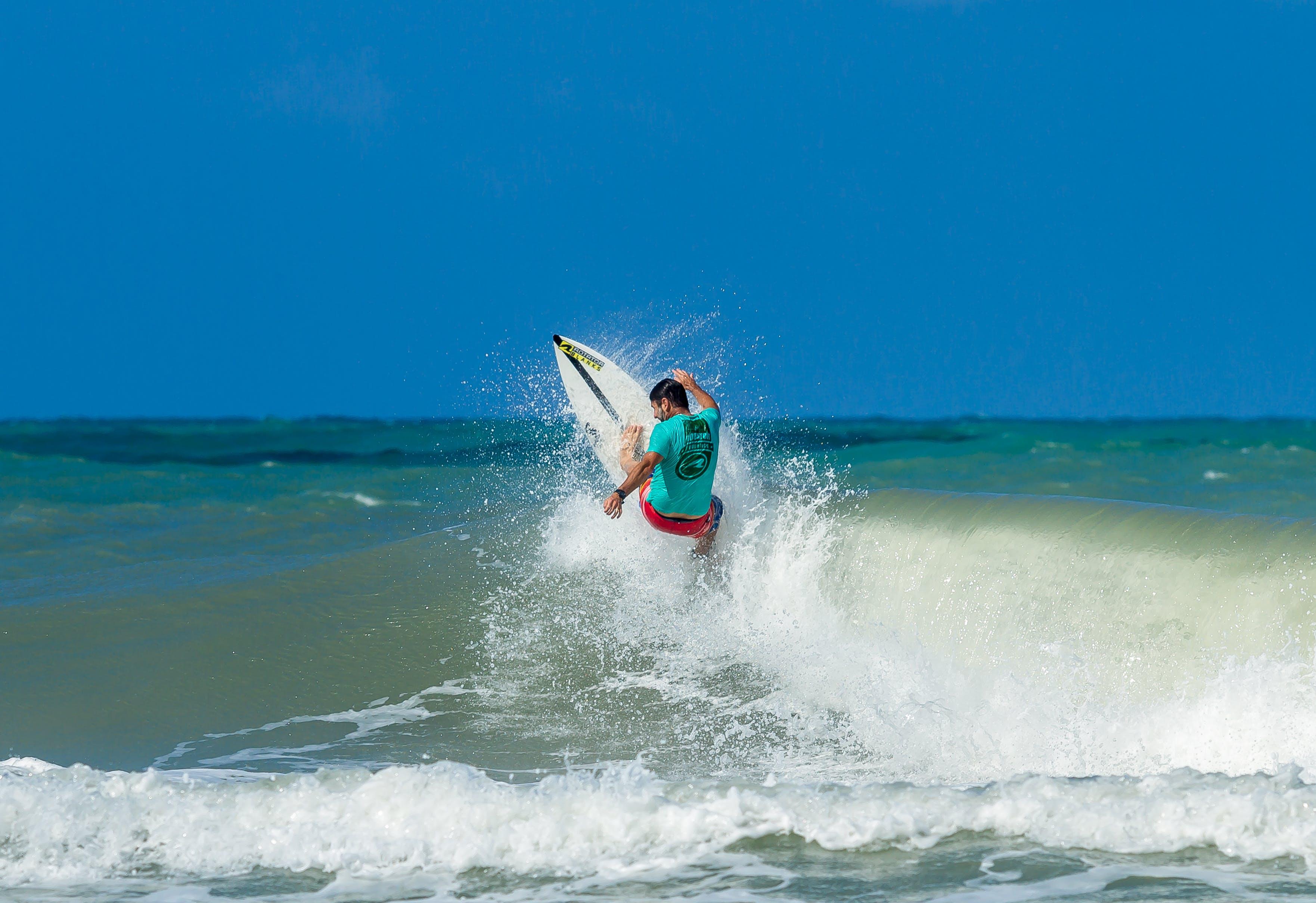 Gratis lagerfoto af bevægelse, bølger, dagtimer, fritid