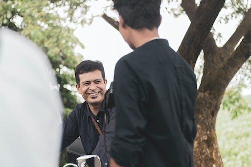 dgr, 남자, 미소 짓는, 바이커의 무료 스톡 사진