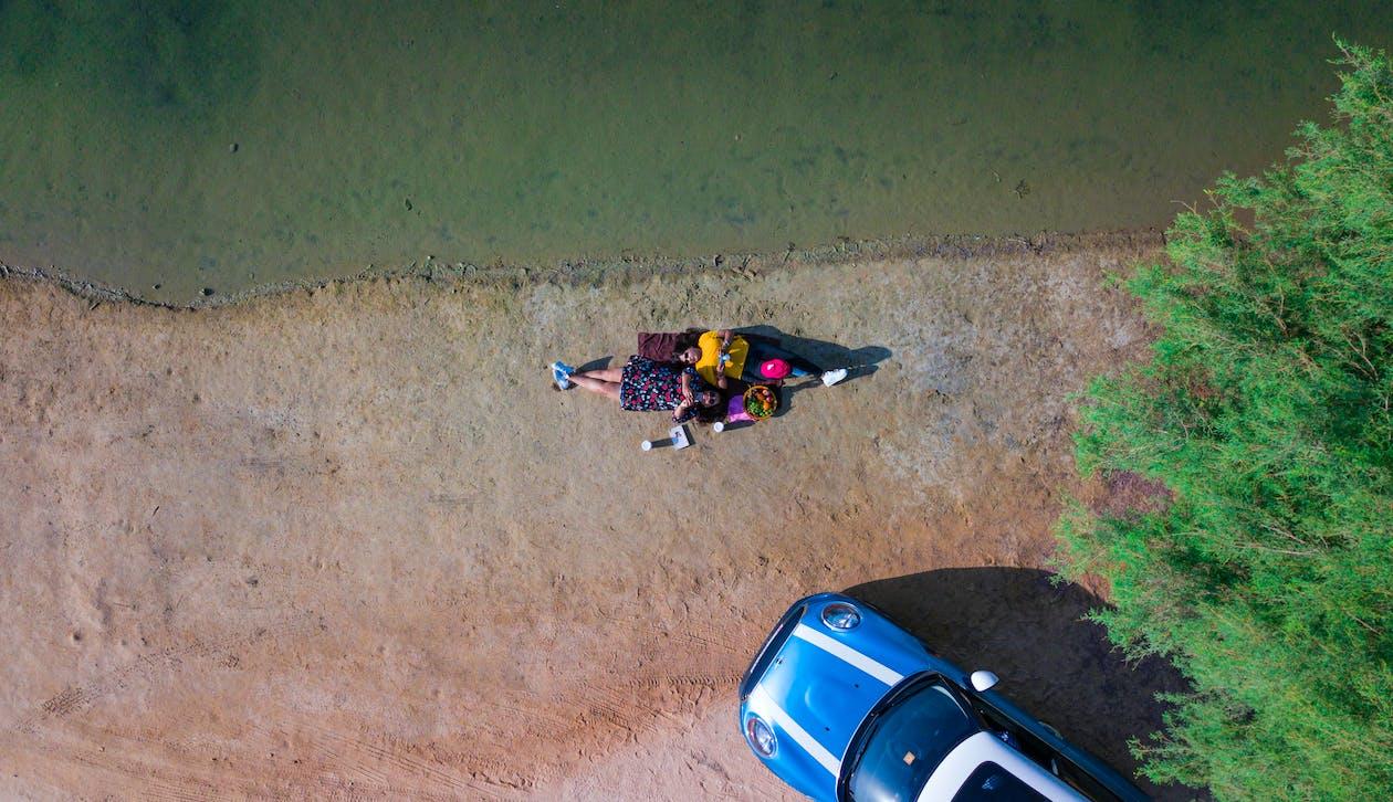 aigua, Ajagut, càmera de dron