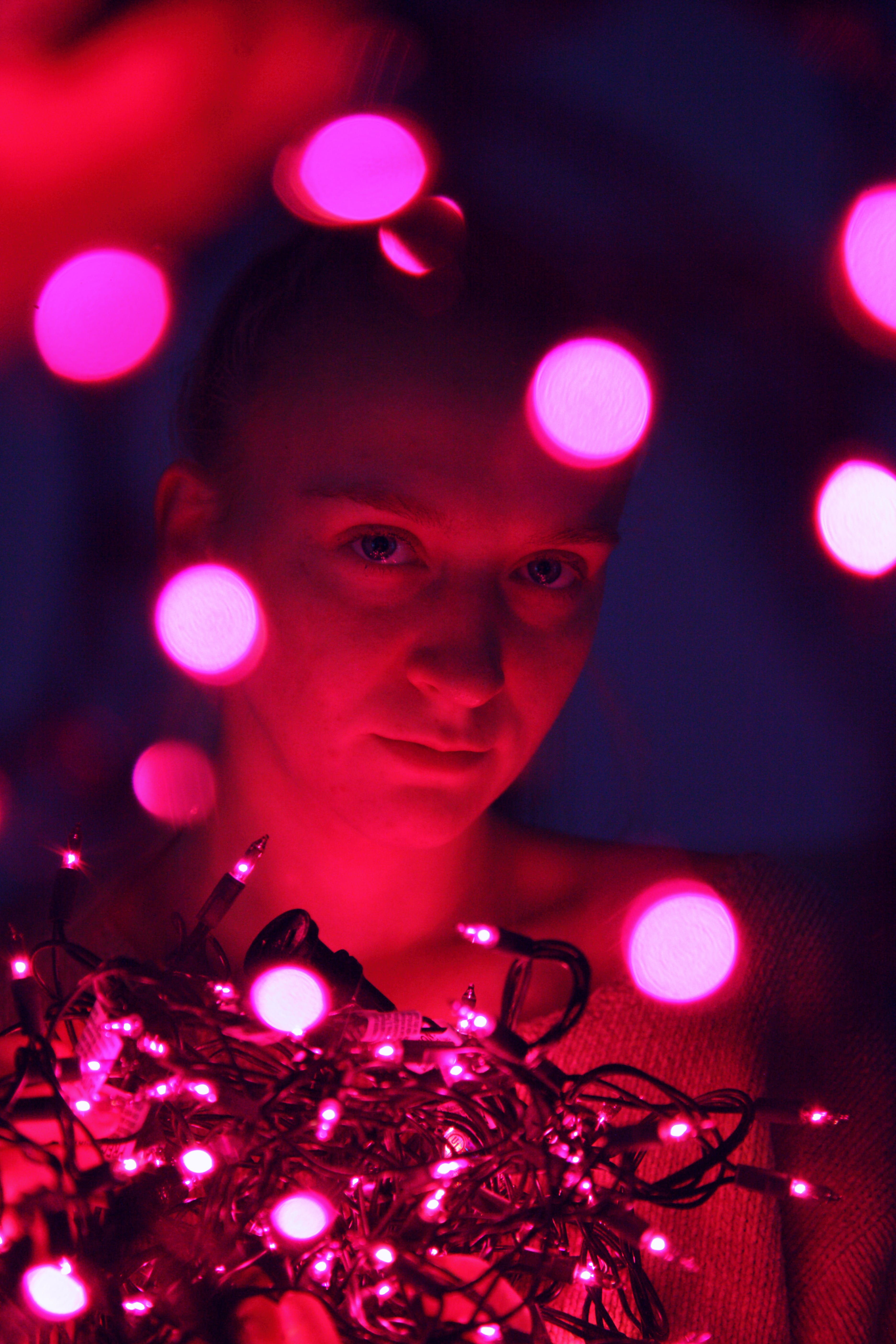 Bokeh Photography of Person