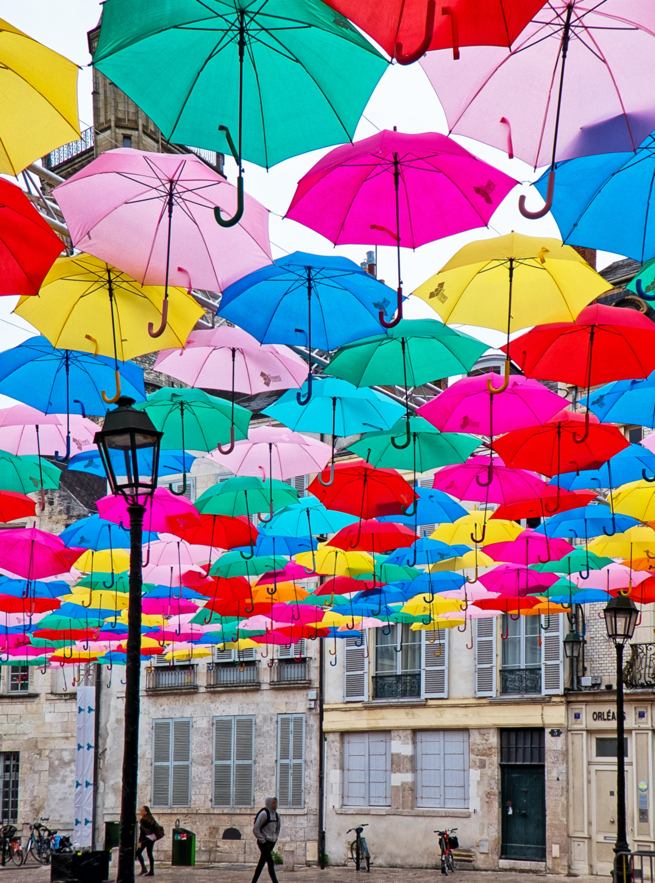 Photo of Hanging Umbrellas