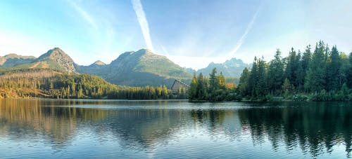 Kostenloses Stock Foto zu bäume, berg, friedlich, landschaft
