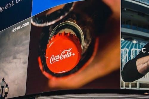 Fotos de stock gratuitas de coca, Coca Cola, Londres, pantalla