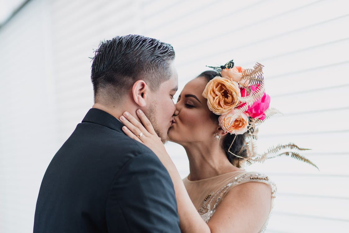 całowanie, ceremonia, dorosły