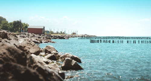 Gratis lagerfoto af blå himmel, blåt vand, det sorte hav, georgien