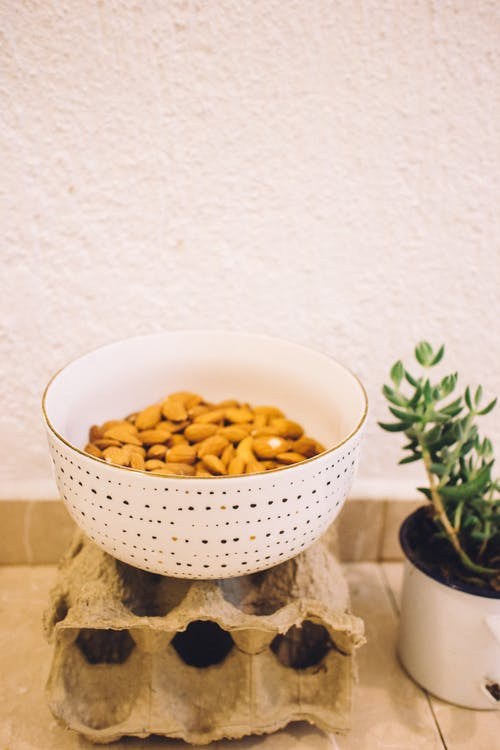 Bowl of Almonds