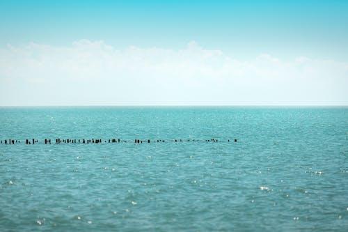 Gratis lagerfoto af blå himmel, blåt vand, hav, havudsigt