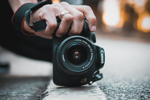 カメラ, カメラレンズ, キヤノン, デジタル一眼レフの無料の写真素材