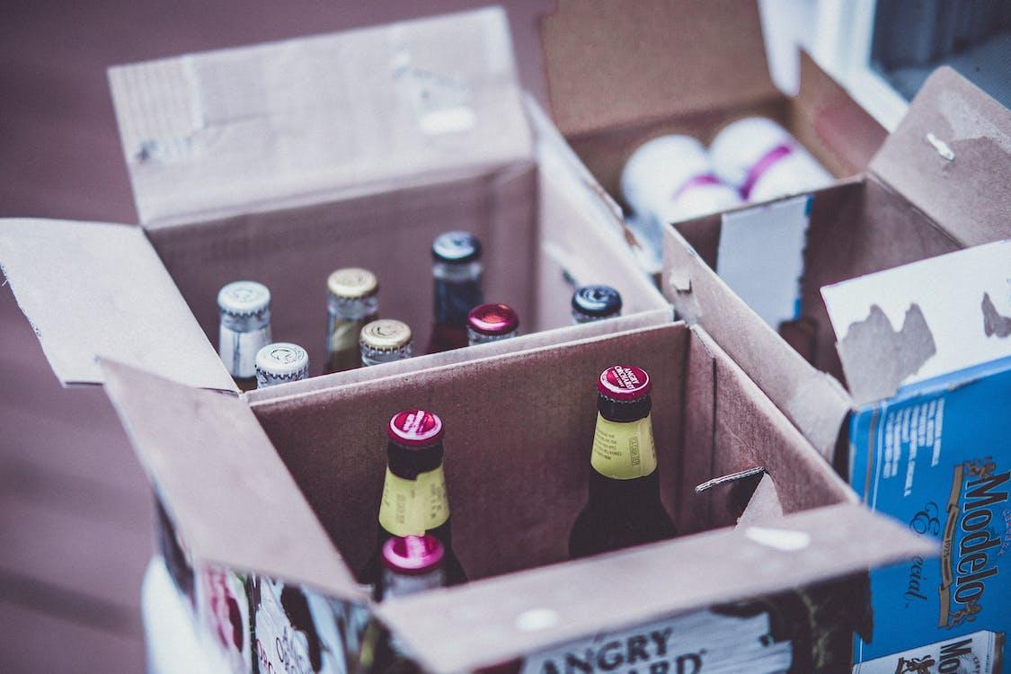 алкоголь, бар, бутылки