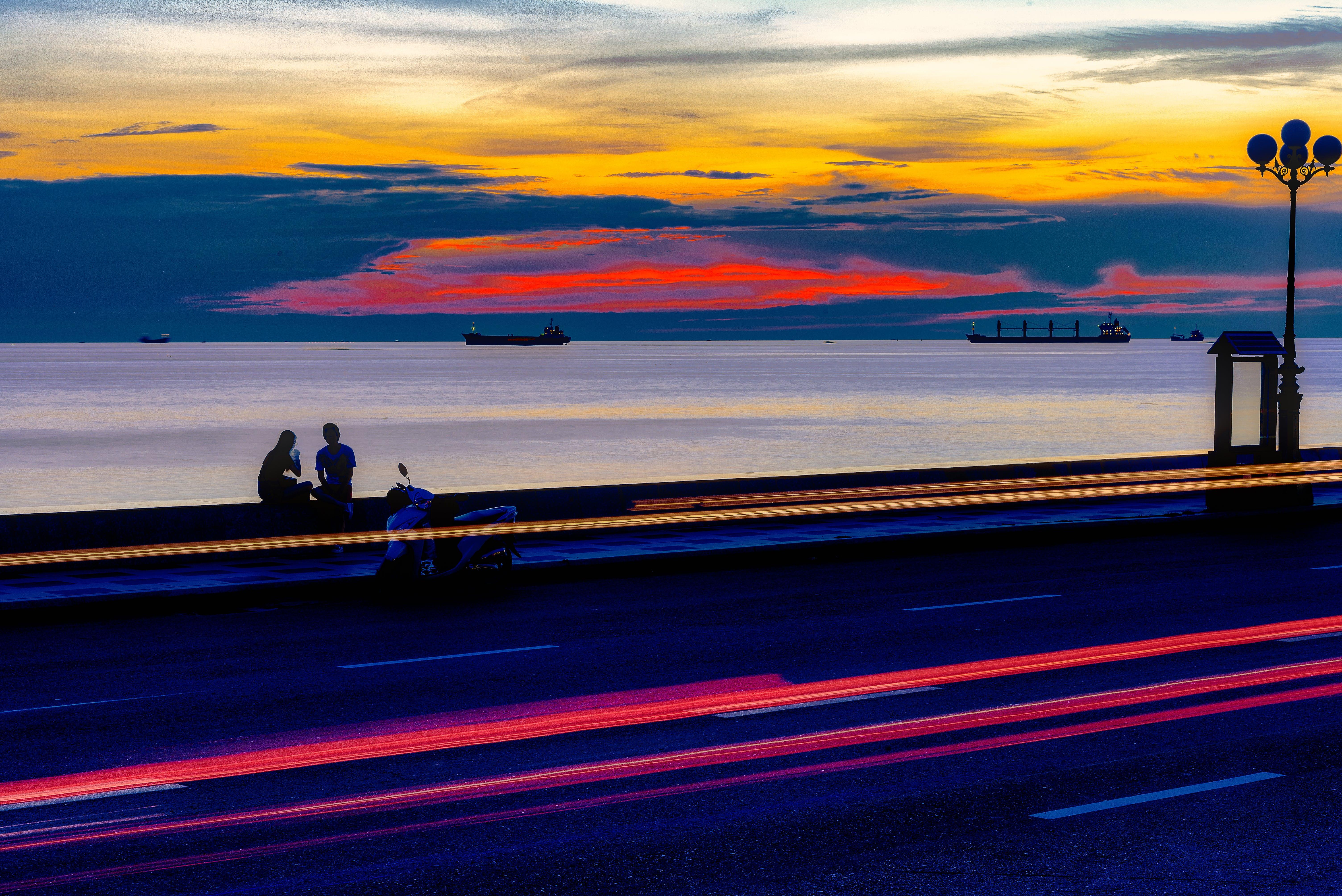 Free stock photo of golden sunset, sunset