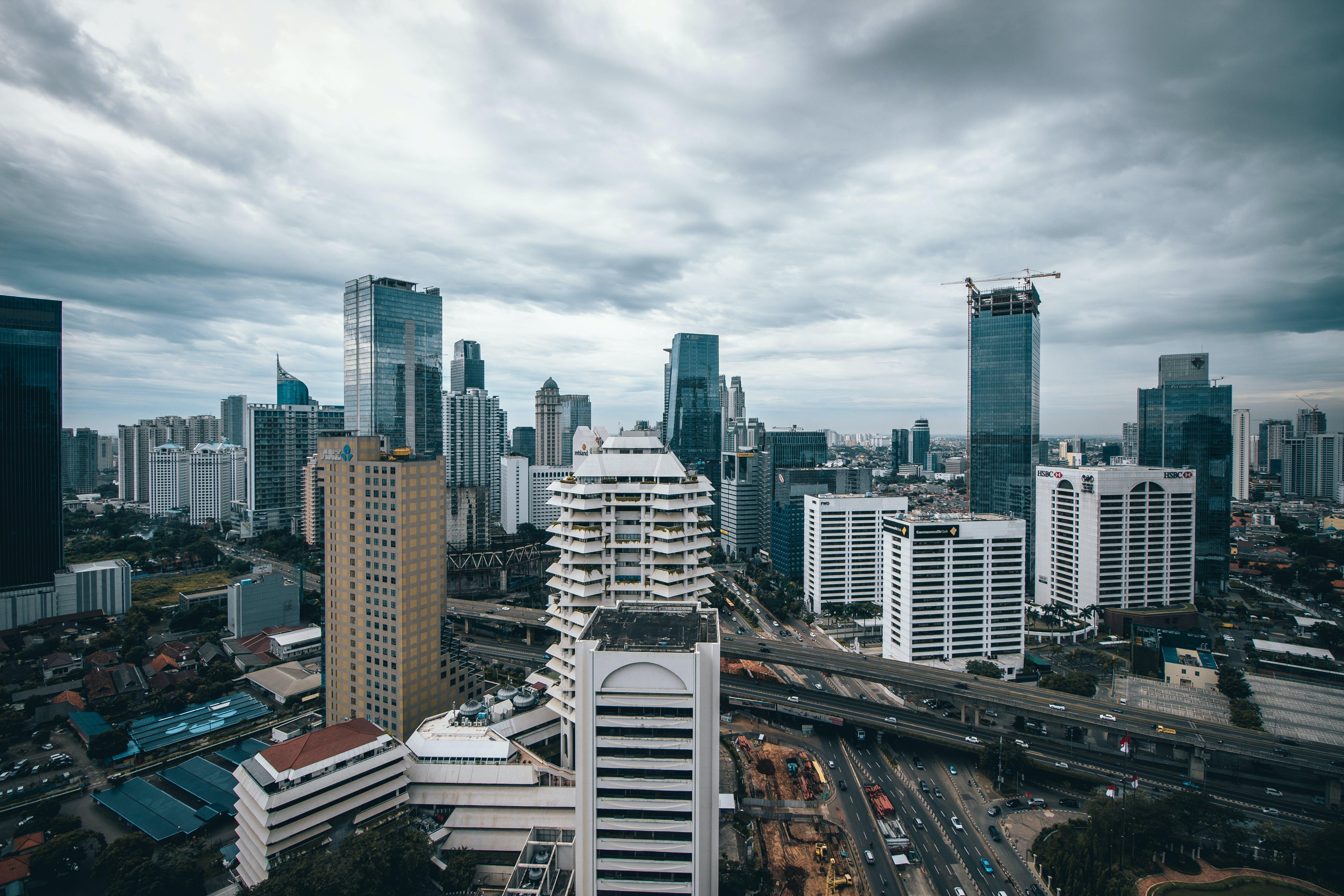 Kostenloses Stock Foto zu stadt, skyline, gebäude, wolkenkratzer
