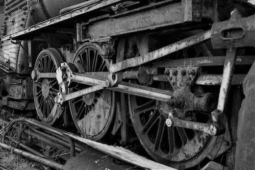 Free stock photo of railway track