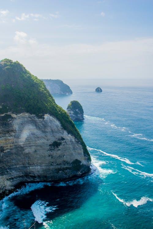 Gratis stockfoto met berg, bird's eye view, daglicht, eiland